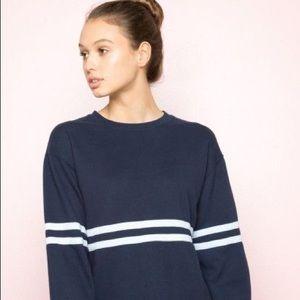 Brandy Melville Blue Long Sleeve